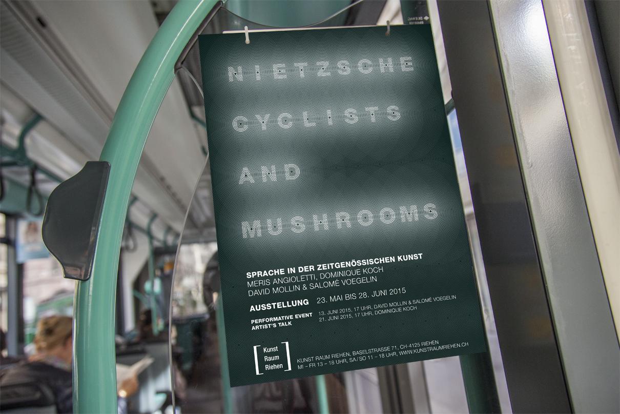 Plakatkampagne für Kunst Raum Riehen