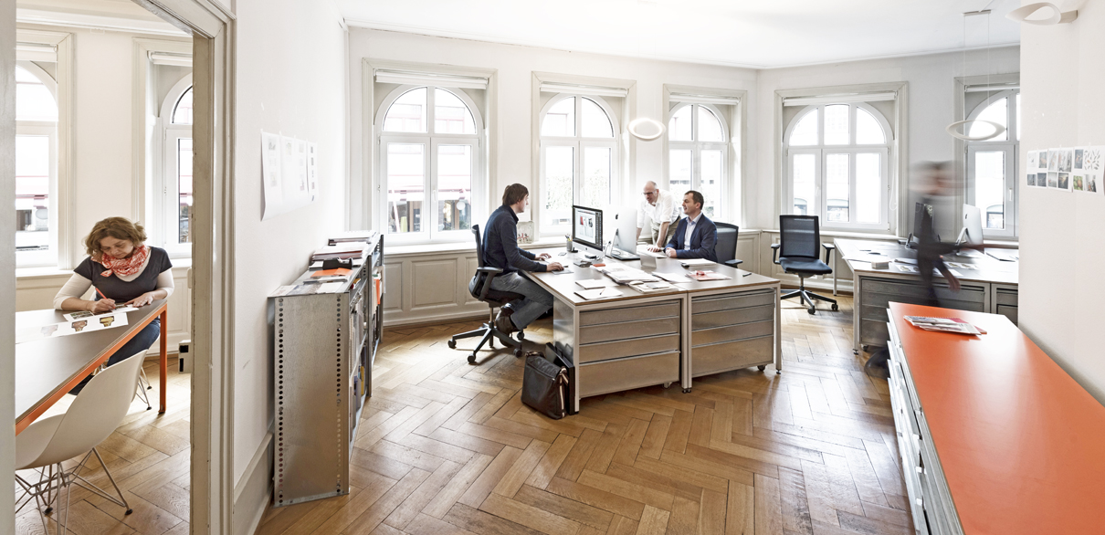 Büro Continue, Bild Christian Flierl