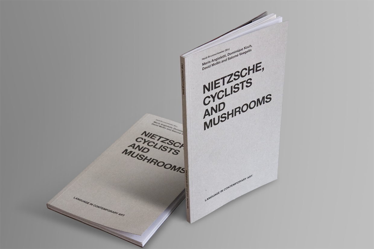 Artist Book zur Ausstellung «Nietzsche, Cyclists and Mushrooms»